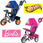 Велосипеды Barbie Барби, Hot Wheels