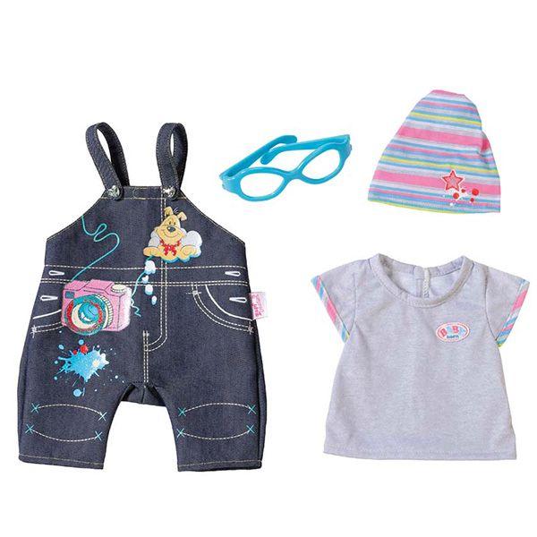 Одежда для кукол Беби Бон джинсовая Baby Born Zapf Creation 822-210