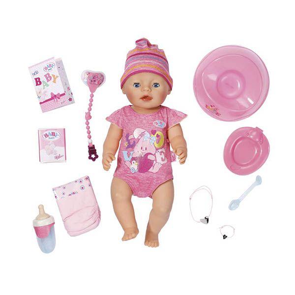 Беби Бон Кукла интерактивная Baby Born Zapf Creation 43 см 823-163