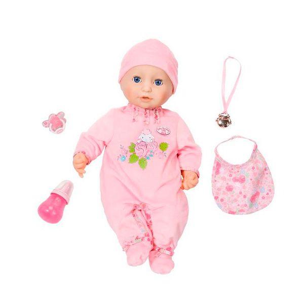 Интерактивная кукла Беби Анабель с мимикой 43 см 794-821