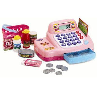 Игровой набор кассовый аппарат с предметами Keenway 30262