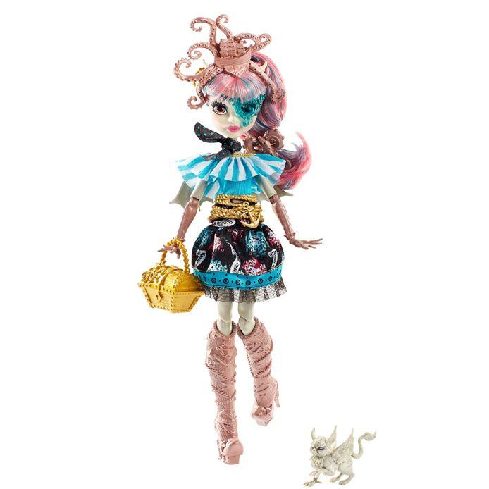 Монстер Хай Кукла Рошель Гойл и питомец Пиратская авантюра Monster High DTV88