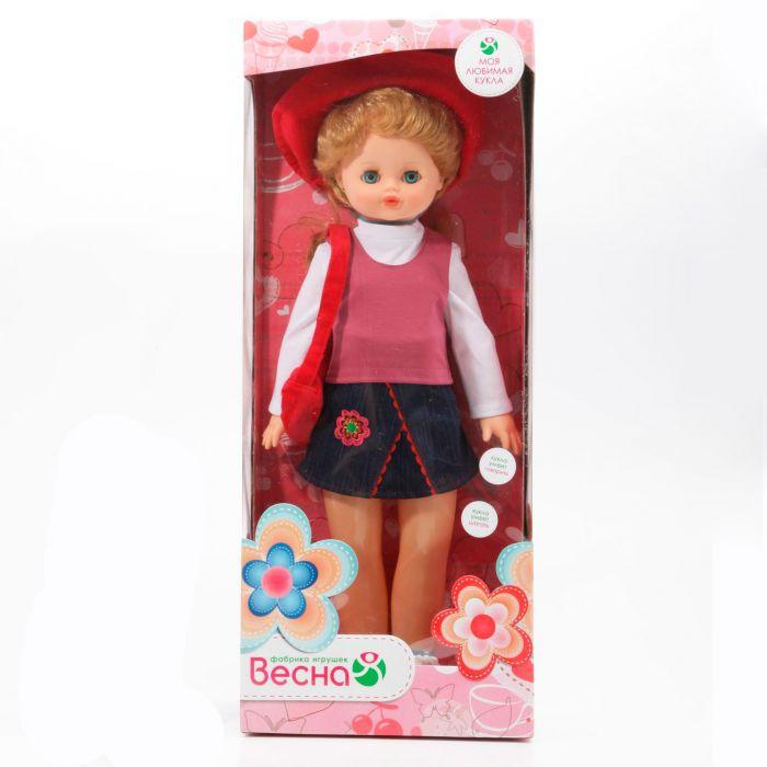 Весна Кукла Алиса говорит и ходит 55см, В1645