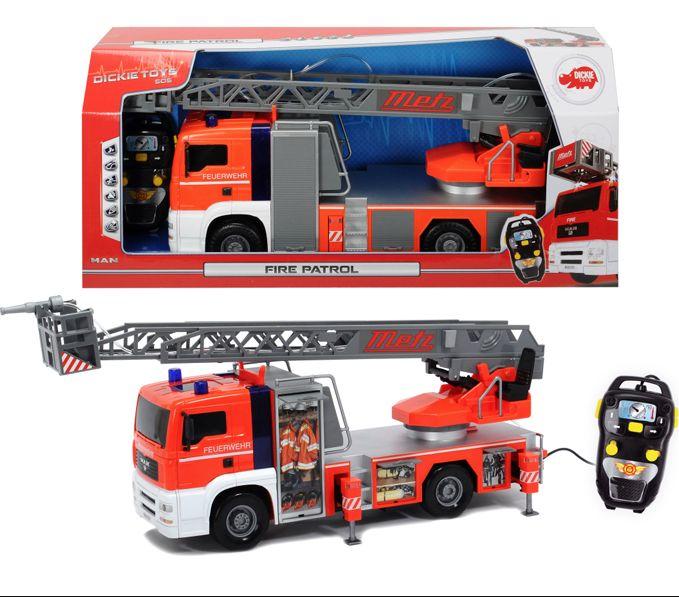 Игрушка Пожарная машина радиоуправляемая с водой Dickie  50см  3719000