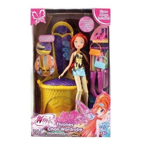 Винкс Клуб Набор Волшебный трон трансформер с куклой IW01331500