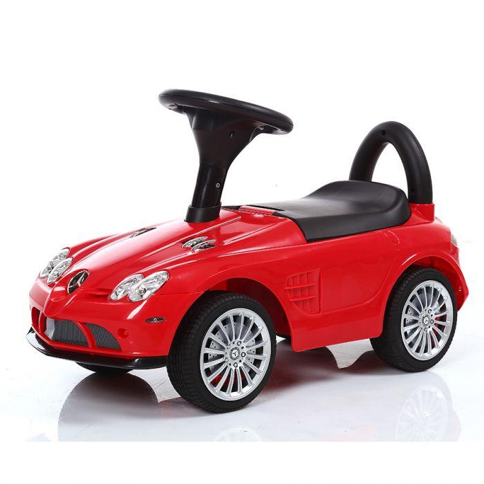 Детская машинка каталка Mercedes-Benz SLR 722S красный