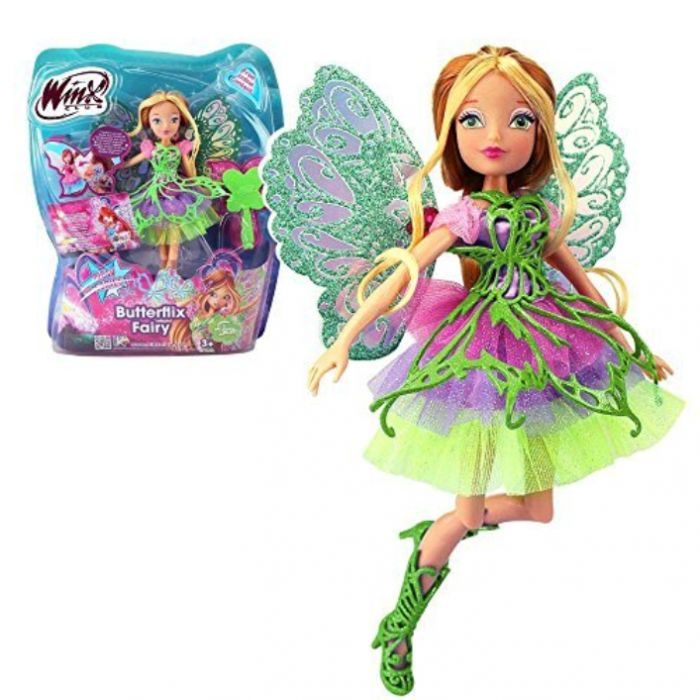 Кукла Винкс Флора Баттерфликс  28 см IW01131400