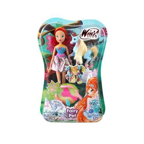 Кукла Винкс Блум с волшебным питомцем IW01221500
