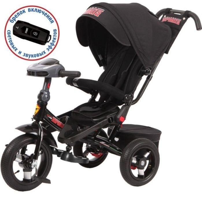 Детский велосипед трехколесный Super Formula SFA3B black