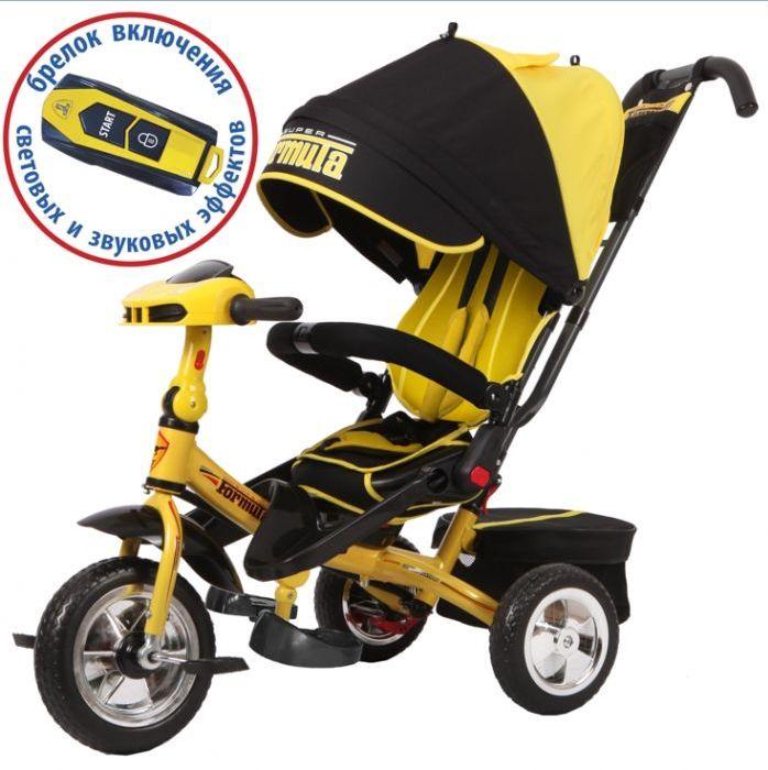 Велосипед трехколесный Super Formula SF3Y yellow
