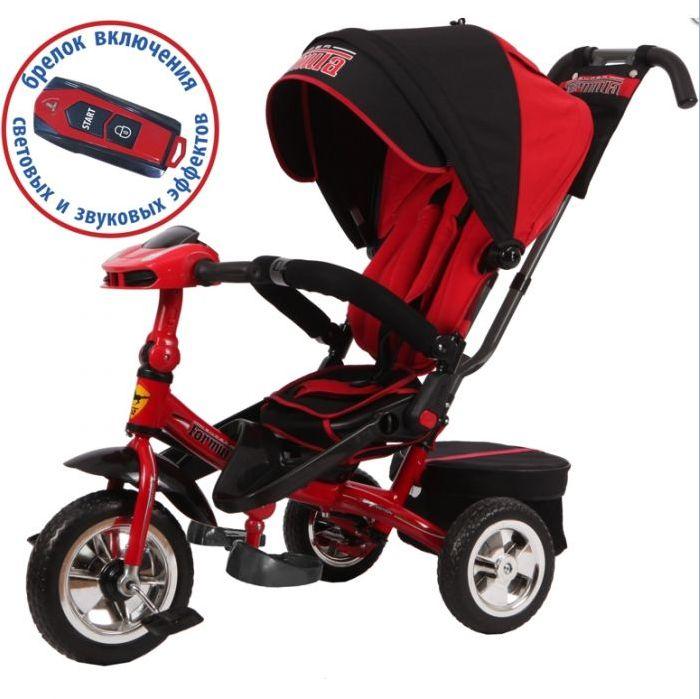 Детский велосипед трехколесный Super Formula SF3R red