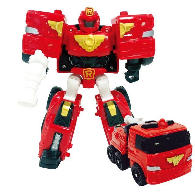 Робот-трансформер Тобот Mini Tobot R с наклейками 301028