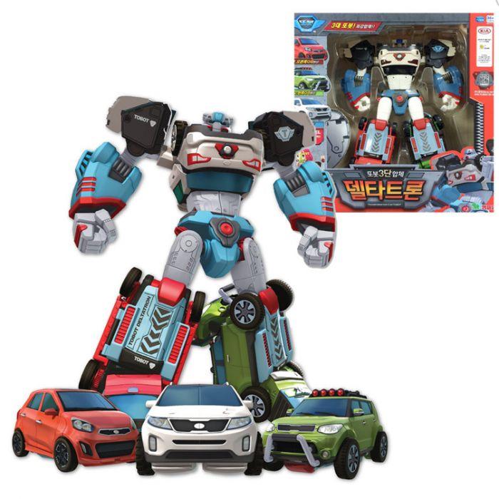 Робот-трансформер Тобот ДЕЛЬТАТРОН 3 в 1 301040