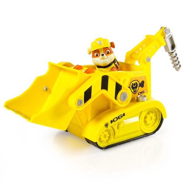 Щенячий патруль большой автомобиль спасателя Крепыш со светом и звуком 16704
