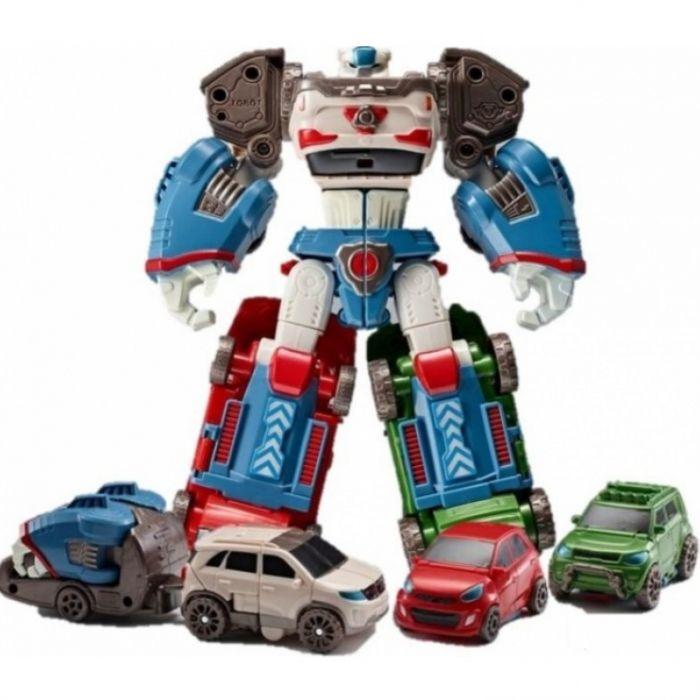 Робот-трансформер мини Тобот ДЕЛЬТАТРОН 3 в 1 301058