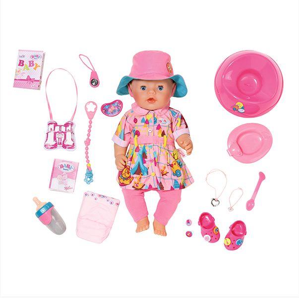 Кукла Беби Бон интерактивная в теплой одежде 43см Zapf Creation Baby born 823-804
