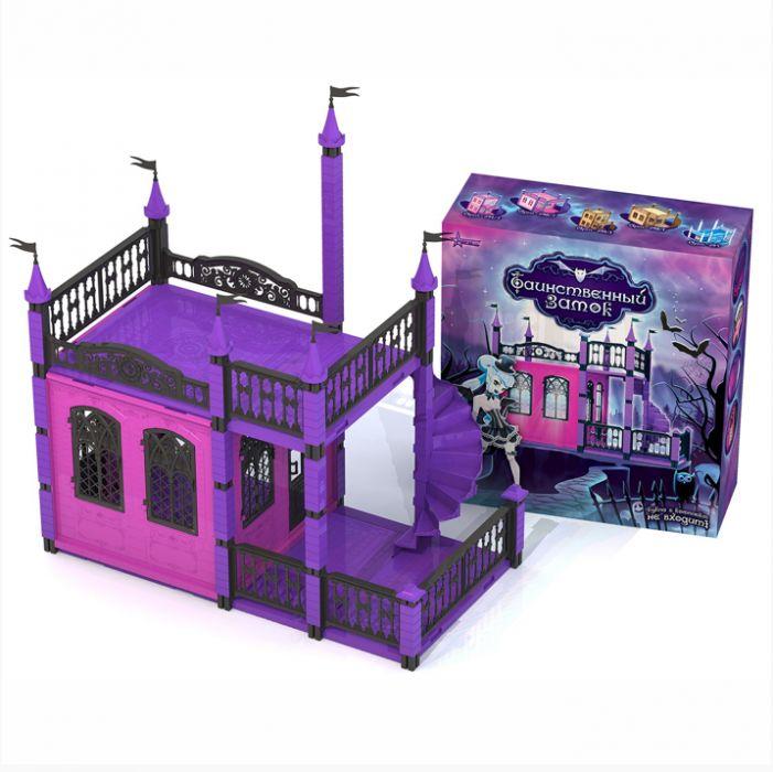 """Кукольный домик """"Замок таинственный"""" с лестницей Н-594"""