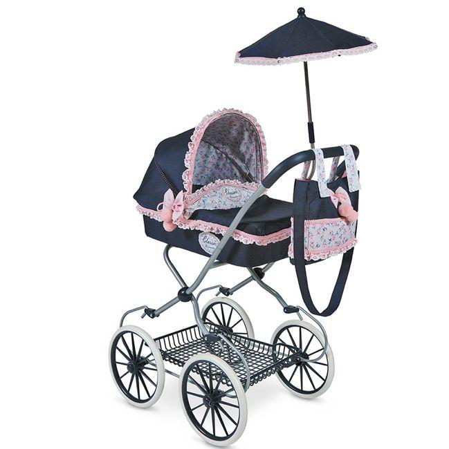 """Коляска для кукол с сумкой и зонтом """"Романтик"""" 81 см 81014"""