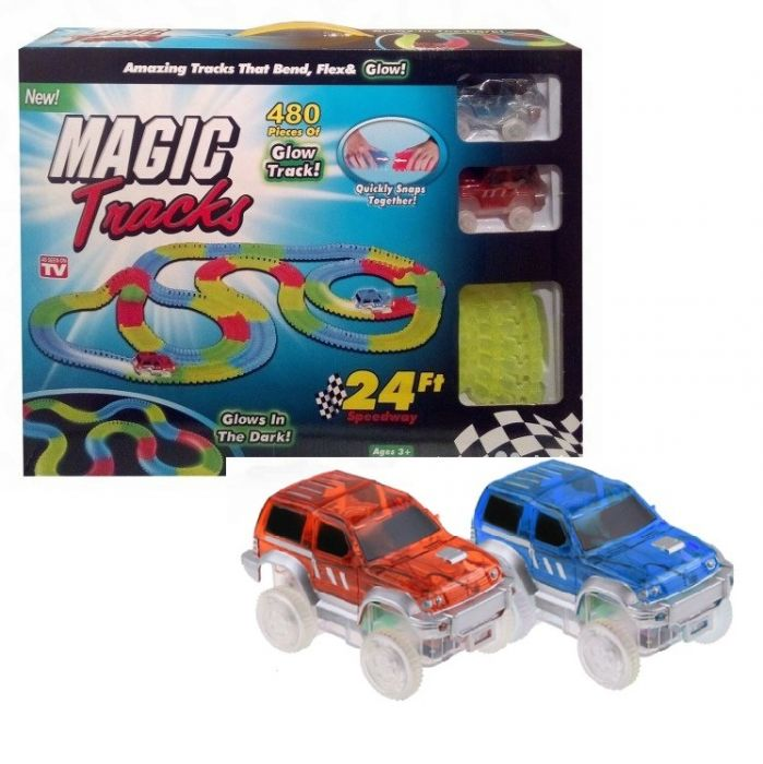 Светящийся трек Magic Track 480 деталей