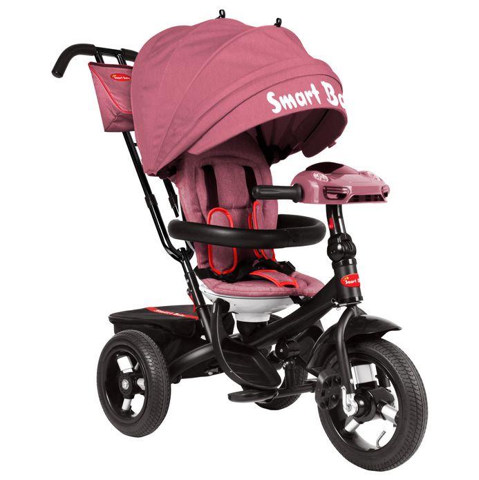 Трехколесный велосипед Smart Baby TS1P розовый