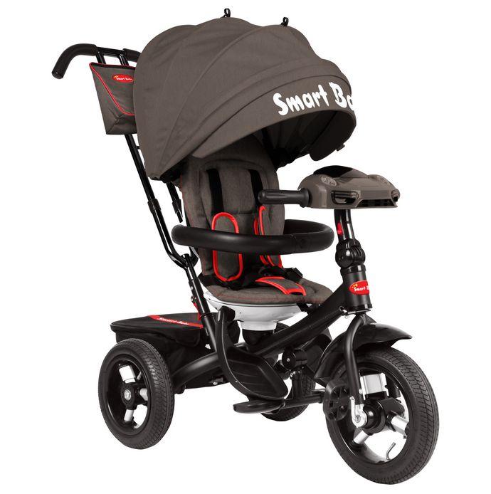 Трехколесный велосипед Smart Baby TS1D серо-коричневый