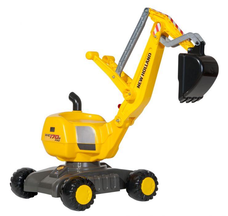 Экскаватор Rolly Toys rollyDigger NH Construction  от 3-х лет 42109