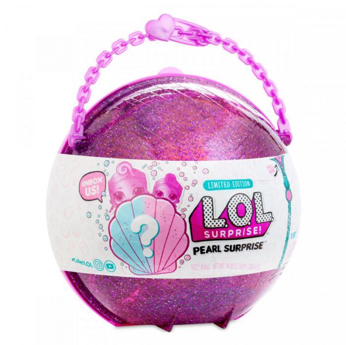 Шар Лол Жемчужный сюрприз LOL Pearl Surprise розовый