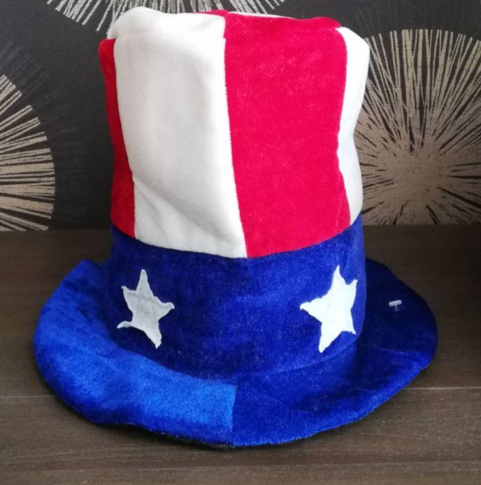 """Колпак карнавальный """"Американский флаг"""" Е40295"""