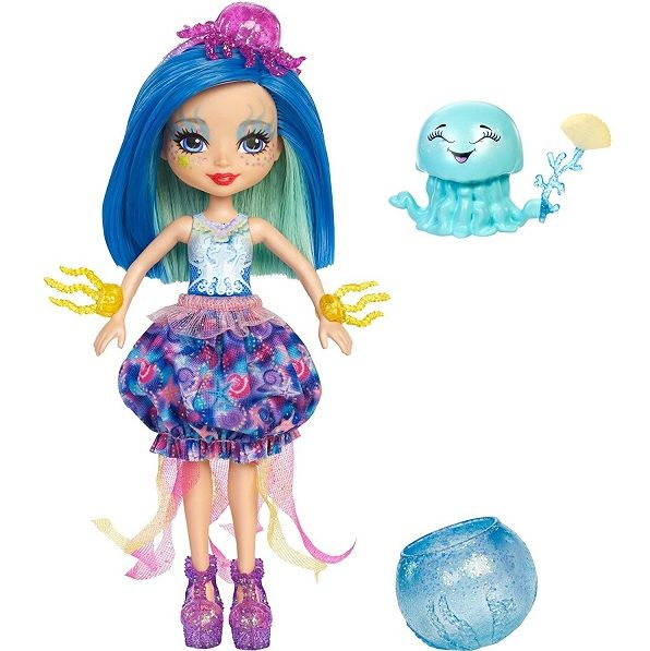Enchantimals кукла Джесса и ее питомец медуза Мериса FKV57