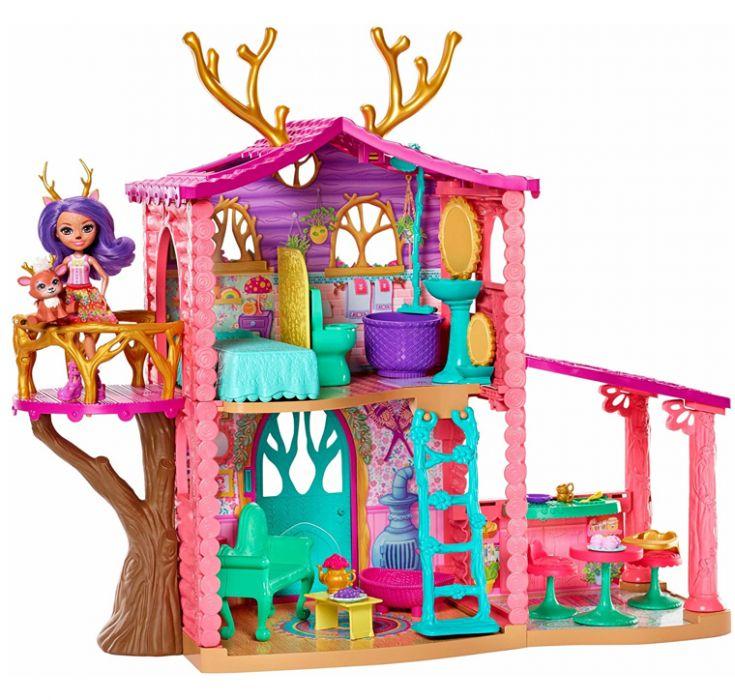 Энчантималс Уютный дом Данессы Оленни Enchantimals FRH50