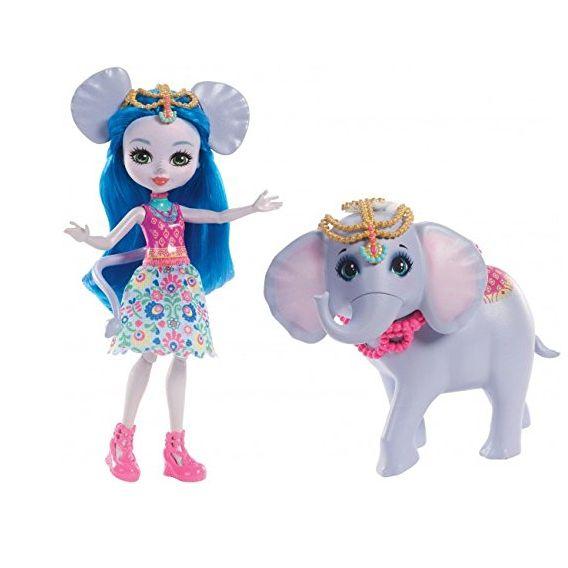 Энчантималс кукла Екатерина и ее большой питомец слон Антик FKY73