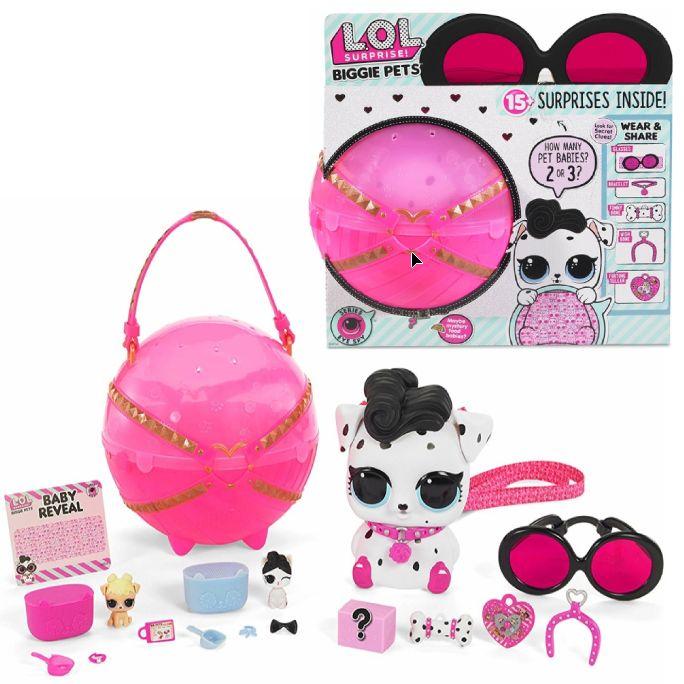 Лол сюрприз большой питомец Долматин LOL Surprise Biggie Pet Dollmation 552239