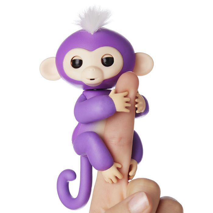 Интерактивная ручная обезьянка Fingerlings Monkey Mia Миа 3704A