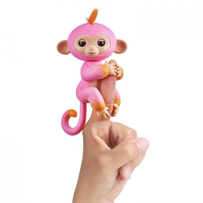 Интерактивная ручная обезьянка Fingerlings Monkey Summer Саммер 3725