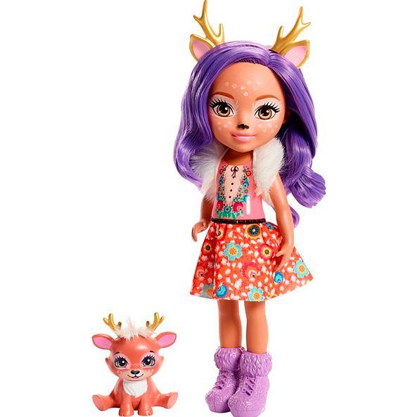 Энчантималс большая кукла Данесса Оления с питомцем Спринт Enchantimals FRH54