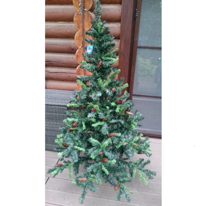 Новогодняя елка искусственная с побегами 180 см Е4048