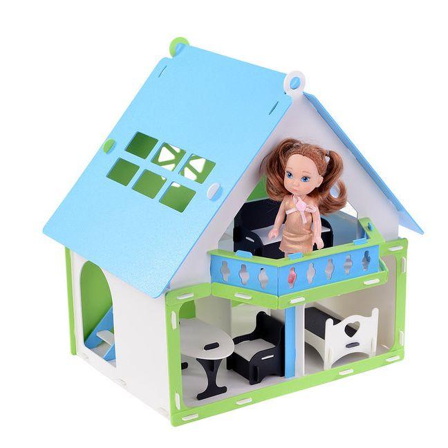 "Кукольный домик ""Дачный домик Варенька"" Krasatoys  40 х 36 х 40 см 000257"