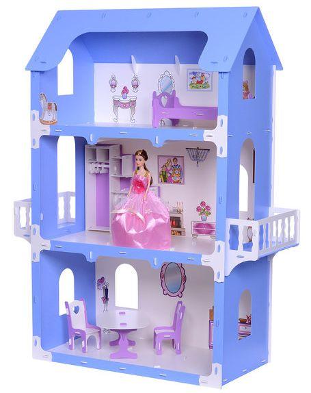 "Кукольный домик ""котедж Екатерина"" Krasatoys 83 х 36 х 105 см 000262"