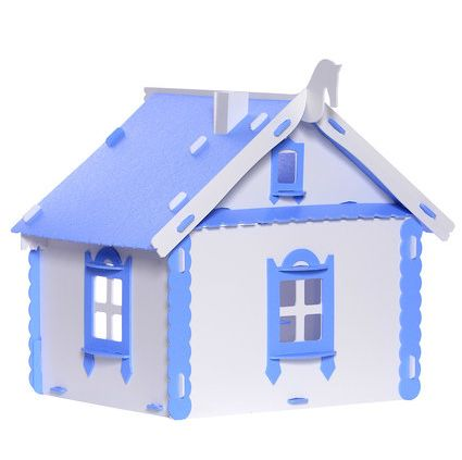 Деревенский кукольный домик Маруся Krasatoys 33 х 30 х 31 см 000265