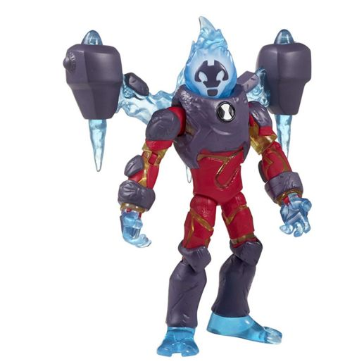 Бен 10 фигурка пришельца Человек-огонь (омни-усиленный) 12,5 см 76116