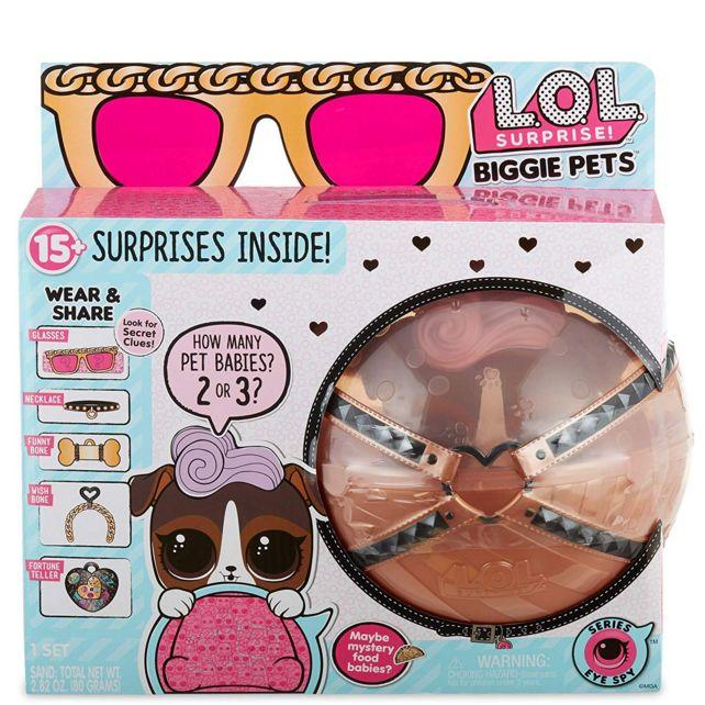 Кукла Лол Большой питомец Собака К9, Декодер LOL Surprise Biggie Pet D.J. K9 552277
