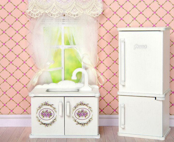 Мебель для кукол Одним прекрасным утром - Кухня Прованс 59417