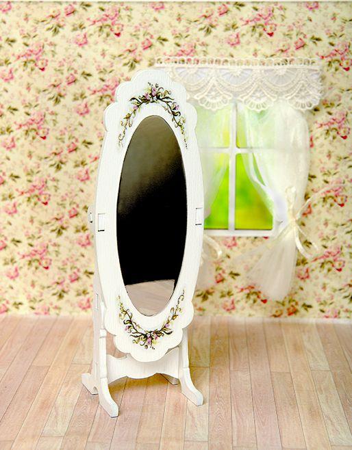 Мебель для кукол Одним прекрасным утром - Зеркало Прованс 59644