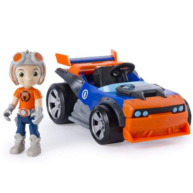 """Расти механик в наборе """"Построй машину героя"""" Rusty Rivets Kart Build 28104R-KART"""