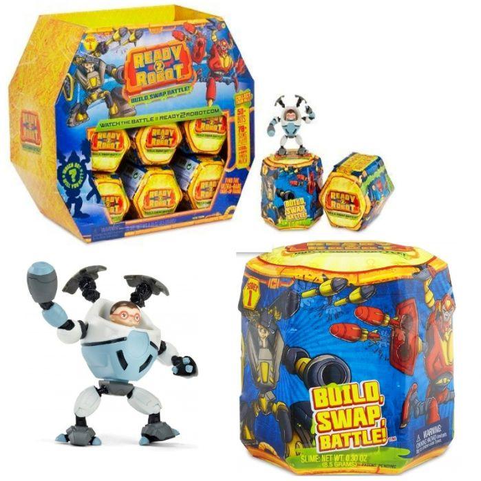 Ready2Robot Капсула сюрприз - робот трансформер 551034