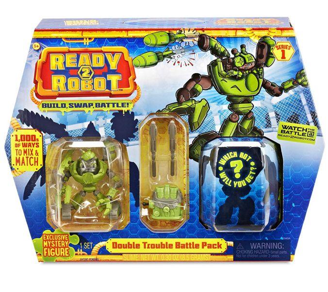 Ready2Robot капсула сюрприз и Торнадо с оружием 553878-TANK