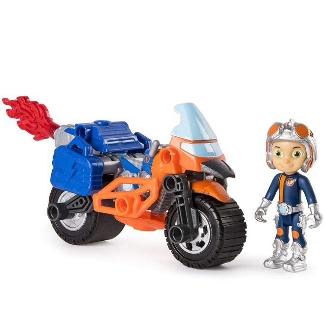 Расти механик в наборе Построй супермото героя Rusty Rivets Supermoto Spin master 28104-MOTO