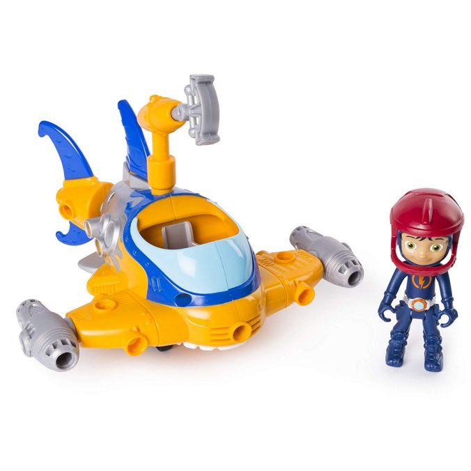 Расти механик в наборе Построй подводную лодку героя Rusty Rivets Shark Spin master 28104-Shark