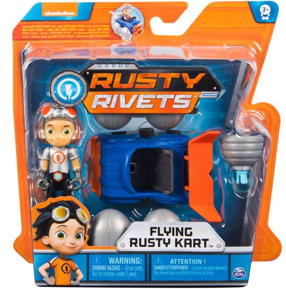 Расти механик в строительном наборе Rusty Rivets - Flying Kart 28120-KART
