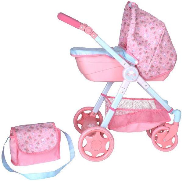 Беби Анабель Коляска для кукол Делюкс 2018 Baby Annabell Zapf Creation 1423572